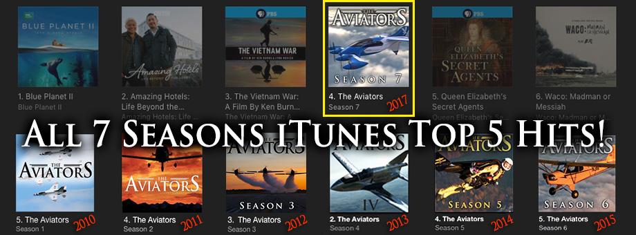 The Aviators Top iTunes Hit Show
